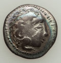 Ancients:Celtic, Ancients: EASTERN EUROPE. Imitating Alexander III the Great(336-323 BC). Ca. 2nd-1st centuries BC. AR drachm (17mm, 2.15 gm,9h). VF....