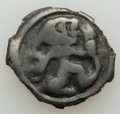 Ancients:Celtic, Ancients: NORTHEAST GAUL. Gallia Belgica. Remi Tribe. Ca. 80-20 BC.Cast potin unit (21mm, 3.88 gm, 9h). VF, edge chips....