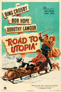 "Road to Utopia (Paramount, 1946). One Sheet (27"" X 41"")"