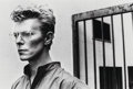 Photographs, Helmut Newton (German/Australian, 1920-2004). David Bowie, Monte-Carlo, 1982. Gelatin silver . 9-1/2 x 14-1/4 inches (24...