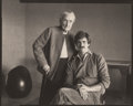 Photographs:Platinum-palladium, William Clift (American, b. 1944). Georgia O'Keeffe and JuanHamilton, 1983. Platinum-palladium. 4-1/4 x 5-3/8 inches (1...