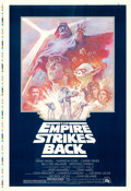 "Movie Posters:Science Fiction, The Empire Strikes Back (20th Century Fox, R-1981). Printer's ProofOne Sheet (28"" X 41"") Tom Jung Artwork.. ..."