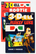 Golden Age (1938-1955):Humor, 3-D-ell #1 and 3 Group (Dell, 1953).... (Total: 2 Comic Books)