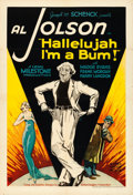 Movie Posters:Musical, Hallelujah, I'm a Bum (United Artists, 1933). One ...