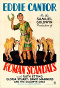 Movie Posters:Comedy, Roman Scandals (United Artists, 1933). One Sheet (...