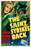 "Movie Posters:Mystery, The Saint Strikes Back (RKO, 1939). One Sheet (27""..."