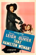 """Movie Posters:Drama, That Hamilton Woman (United Artists, 1941). One Sheet (27"""" X 41"""")....."""