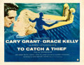 Movie Posters:Hitchcock, To Catch a Thief (Paramount, 1955). Half Sheet (22...