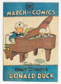 Golden Age (1938-1955):Funny Animal, March of Comics #41 Donald Duck (K. K. Publications, Inc., 1949)Condition: VG....