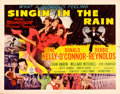 """Movie Posters:Musical, Singin' in the Rain (MGM, 1952). Half Sheet (22"""" X 28"""") Style A....."""