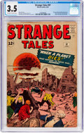 Silver Age (1956-1969):Horror, Strange Tales #97 (Marvel, 1962) CGC VG- 3.5 Off-white to whitepages....