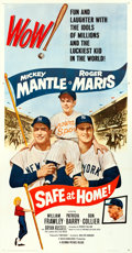 "Movie Posters:Sports, Safe at Home (Columbia, 1962). Three Sheet (41"" X 78.75"").. ..."