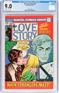Bronze Age (1970-1979):Western, Our Love Story #33 (Marvel, 1975) CGC VF/NM 9.0 Off-white to white pages....