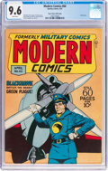 Golden Age (1938-1955):War, Modern Comics #60 Mile High Pedigree (Quality, 1947) CGC NM+ 9.6White pages....