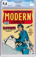 Golden Age (1938-1955):War, Modern Comics #61 Mile High Pedigree (Quality, 1947) CGC NM+ 9.6White pages....