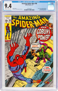The Amazing Spider-Man #98 (Marvel, 1971) CGC NM 9.4 Off-white to white pages