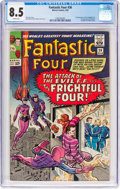 Silver Age (1956-1969):Superhero, Fantastic Four #36 (Marvel, 1965) CGC VF+ 8.5 White pages....