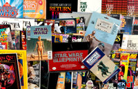Star Wars and Science Fiction Related Books and Memorabilia Box Lot (Various Publishers, 1980s-90s) Condition: Average F...