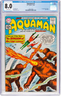 Silver Age (1956-1969):Superhero, Aquaman #1 (DC, 1962) CGC VF 8.0 Off-white pages....