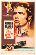 "Movie Posters:Exploitation, The Wild One (Columbia, 1953). One Sheet (27"" X 41""). Exploitation.. ..."