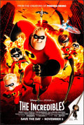 """Movie Posters:Animation, The Incredibles (Buena Vista, 2004). One Sheet (27"""" X 40"""").Animation.. ..."""