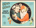 "Movie Posters:Comedy, Show People (MGM, 1928). Lobby Card (11"" X 14""). Comedy.. ..."