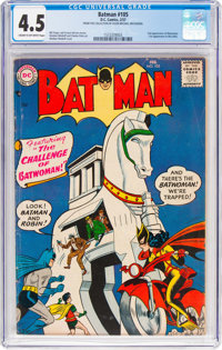 Batman #105 (DC, 1957) CGC VG+ 4.5 Cream to off-white pages