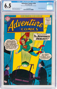 Adventure Comics #256 (DC, 1959) CGC FN+ 6.5 Off-white to white pages