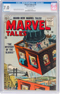 Golden Age (1938-1955):Science Fiction, Marvel Tales #136 (Atlas, 1955) CGC FN/VF 7.0 Cream to off-white pages....