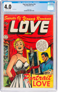 Golden Age (1938-1955):Romance, Top Love Stories #19 (Star Publications, 1954) CGC VG 4.0 Off-whiteto white pages....