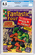 Silver Age (1956-1969):Superhero, Fantastic Four #25 (Marvel, 1964) CGC VF+ 8.5 Off-white pa...