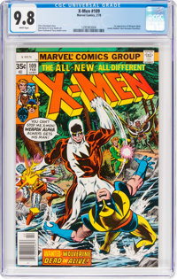 X-Men #109 (Marvel, 1978) CGC NM/MT 9.8 White pages