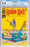 Silver Age (1956-1969):Humor, Richie Rich #1 (Harvey, 1960) CGC VG- 3.5 Off-white to white pages....