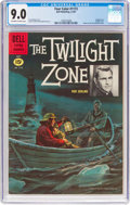 Silver Age (1956-1969):Adventure, Four Color #1173 The Twilight Zone (Dell, 1961) CGC VF/NM 9.0 Off-white to white pages....