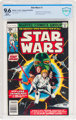 Star Wars #1 (Marvel, 1977) CBCS NM+ 9.6 White pages