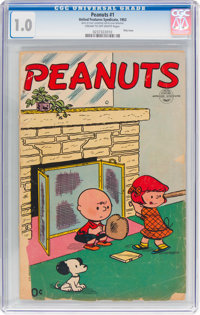 Peanuts #1 (United Feature Syndicate, 1953) CGC FR 1.0 Cream to off-white pages