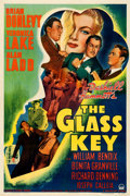 "Movie Posters:Film Noir, The Glass Key (Paramount, 1942). One Sheet (27"" X ..."