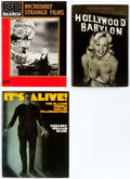 Books:Miscellaneous, Movie Related Hardcover and Trade Paperback Books Group of 34 (Various Publishers) Condition: Average VF.... (Total: 34 Items)