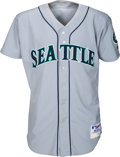 Baseball Collectibles:Uniforms, 2000 Alex Rodriguez Game Worn & Signed Seattle Mariners Jersey....