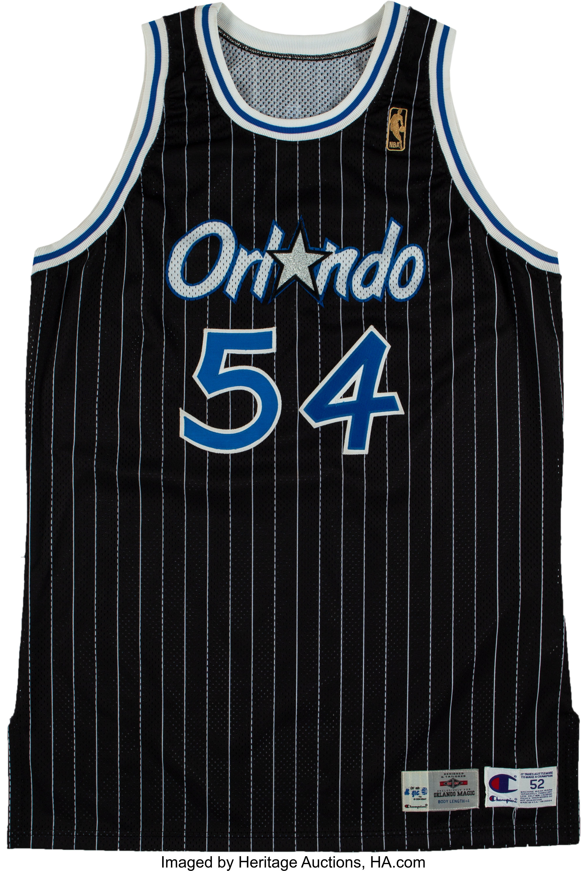 6b3ac0a6d03 1996-97 Horace Grant Game Worn & Signed Orlando Magic   Lot #51438    Heritage Auctions