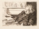 Anders Leonard Zorn (1860-1920) Ernest Renan, 1892 Etching on laid paper 9 x 13-1/4 inches (22.9 x 33.7 cm) (image)