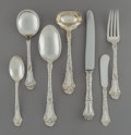 Silver & Vertu:Flatware, A Fifty-Three Piece Gorham Poppy Pattern Silver Flatware Service, Providence, Rhode Island, circa 1902. Marks: (... (Total: 53 Items)