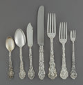 Silver Flatware, American:Gorham, A Forty-Seven Piece Gorham Versailles Pattern SilverFlatware Service, Providence, Rhode Island, designed 1888. ...(Total: 47 Items)