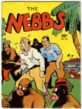 Magazines:Humor, Large Feature Comic (Series I) #23 The Nebbs (Dell, 1941)Condition: FR....