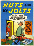 Magazines:Humor, Large Feature Comic (Series I) #22 Nuts and Jolts (Dell, 1941)Condition: VG....