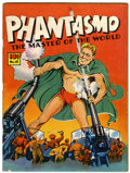 Magazines:Superhero, Large Feature Comic (Series I) #18 Phantasmo - Rockford pedigree (Dell, 1940) Condition: FN....
