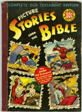 Golden Age (1938-1955):Religious, Picture Stories from the Bible Complete Old Testament (EC, 1943)Condition: VG/FN....