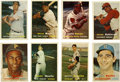 Baseball Cards:Sets, 1957 Topps Baseball Complete Set (407).Offered is a 1957 Toppscomplete set in overall middle grade. Highlights include high...