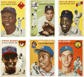 Baseball Cards:Sets, 1954 Topps Baseball Complete Set (250)Offered is a 1954 Topps Baseball set in middle grade condition. This set contains rook...