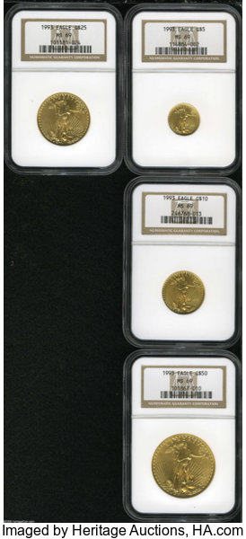 Gold Eagle 5 1 10 Ounce 1986 Date